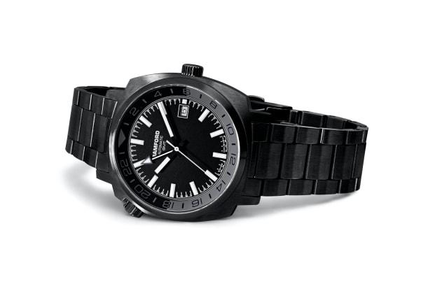 Bamford_GMT_Predator_BLACK_Bracelet_Down