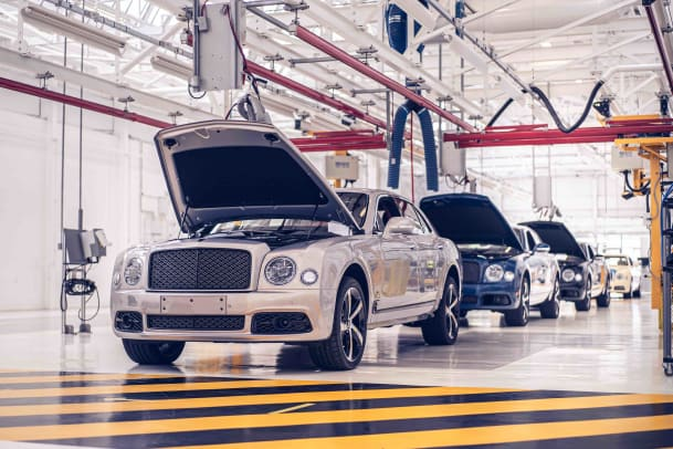 Mulsanne End of Production - 2