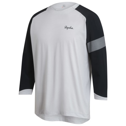 Trail 3_4 Jersey - Micro Chip _ Anthracite-2