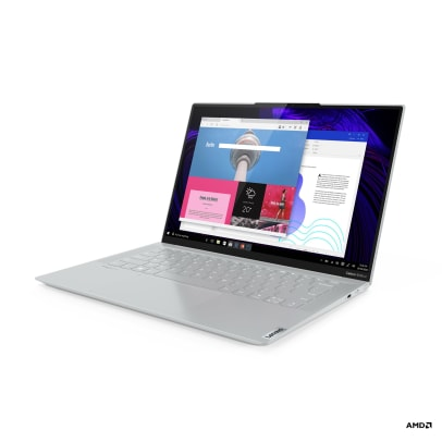 Lenovo Yoga Slim 7 Carbon_AMD_14in_Front_Facing_Left