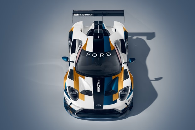 Ford unveils the track only Ford GT Mk II
