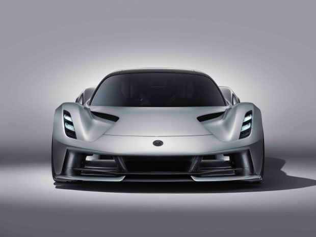 Lotus introduces the world to the first all electric British hypercar