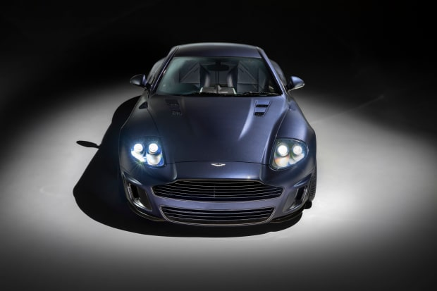 Designer Ian Callum revisits the Aston Martin Vanquish