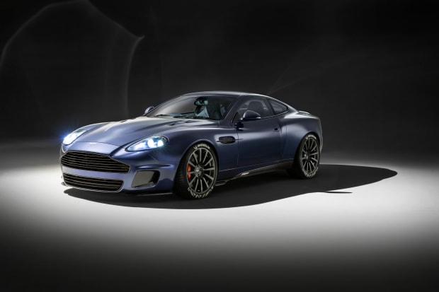 Designer Ian Callum revisits the Aston Martin Vanquish