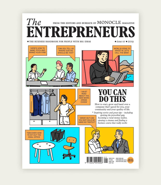 Monocles releases its latest annual publication, the Entrepreneurs