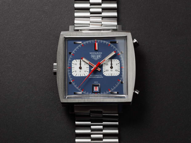 Tag Heuer refashions an original 1969 Monaco for the watchs 50th anniversary