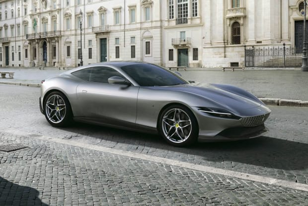 Ferrari reveals an elegant new GT, the Roma