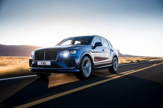 Bentley reveals its latest version of the Bentayga Speed