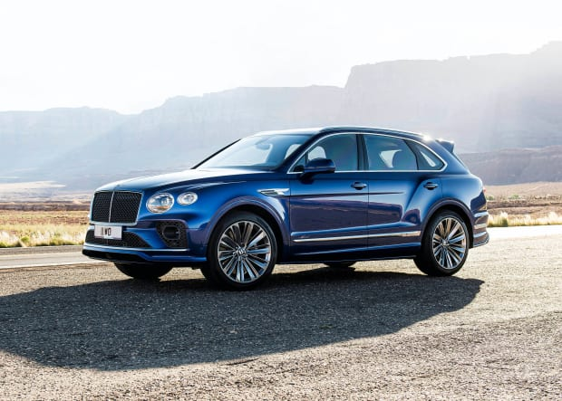 Bentley reveals its latest version of the Bentayga Speed