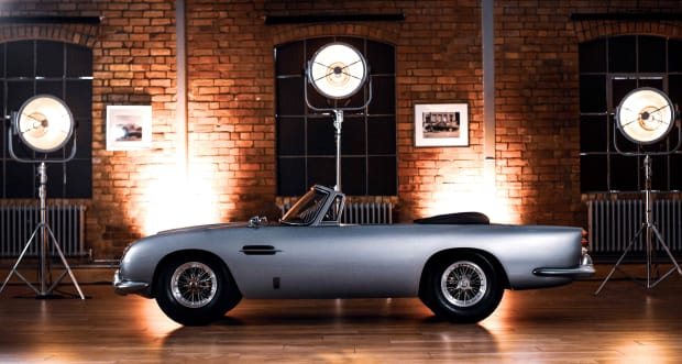 Aston Martin and the Little Car Company reveal the DB5 Junior