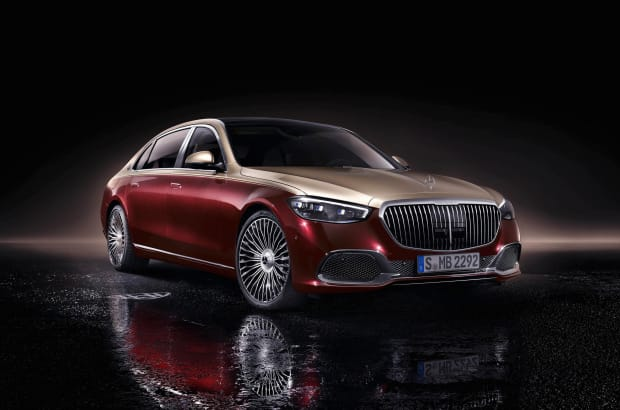 Mercedes unveils the 2022 Mercedes Maybach S Class