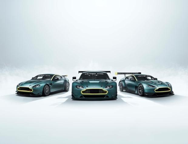 Aston Martin reveals the Vantage Legacy Collection