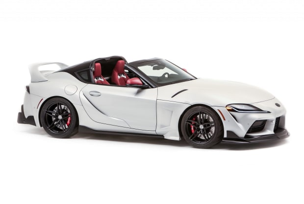Toyota takes it back to the targa top Supras of the 90s with a new concept