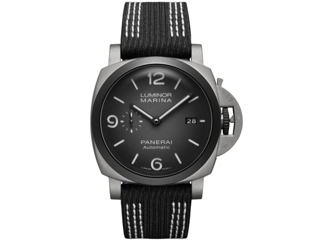 Panerai releases a new Luminor Marina inspired by champion free diver Guillaume Néry