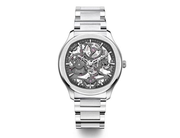Piaget shows off its expertise in crafting complex, ultra thin movements with the Polo Skeleton