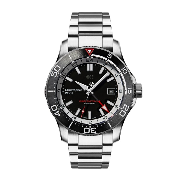 Christopher Wards C60 Elite GMT 1000 is designed for globetrotting ocean explorers
