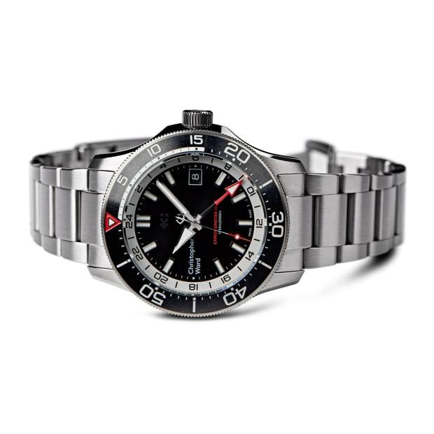 Christopher Wards C60 Elite GMT 1000 is designed for globetrotting ocean explorers