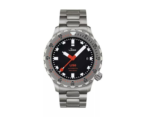 Sinn introduces a smaller version of its U1 dive watch, the 41mm U50