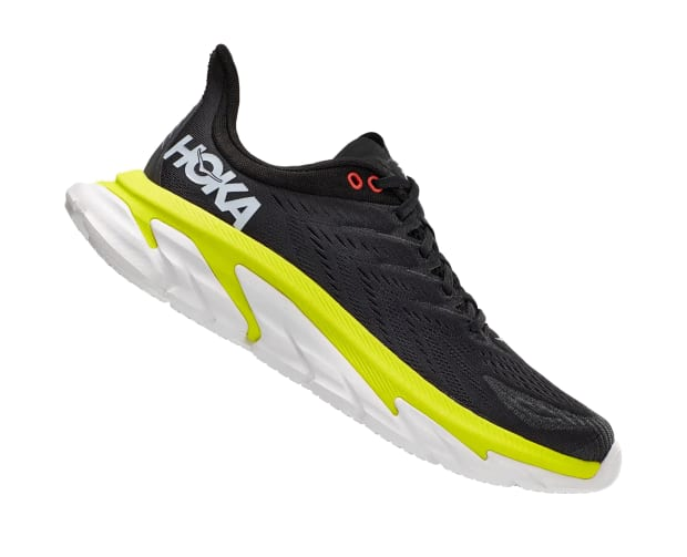 Hoka One Ones Clifton Edge running shoe was designed to devour your 10K