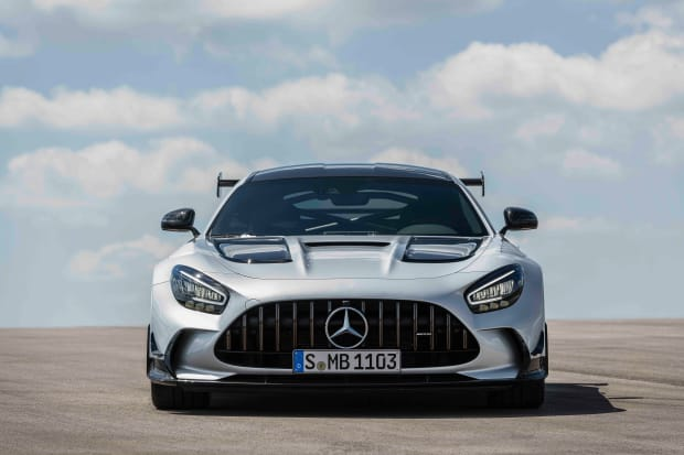 Mercedes AMG unveils the 720 hp AMG GT Black Series