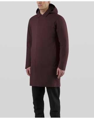 Galvanic-Down-Coat-Maroon