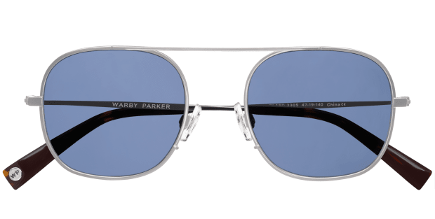 Warby Parker_Willard_Brushed Silver_topdown.png