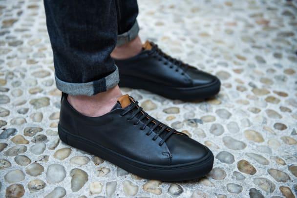 beckett simonon black sneakers 1.jpg