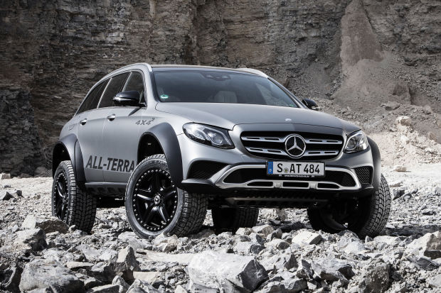 The E-Class All Terrain 4x4² is the ultimate off-road luxury w...