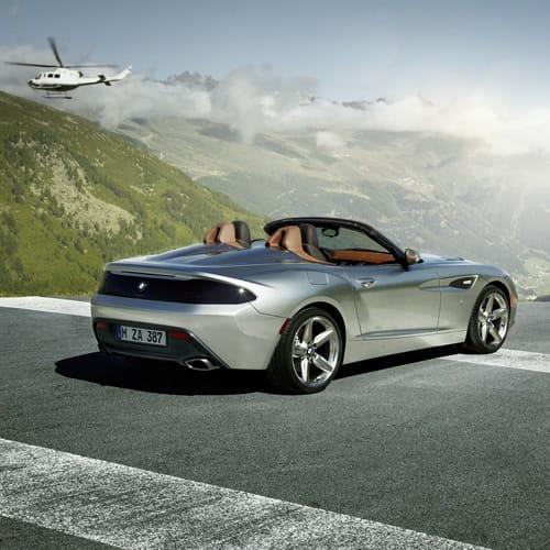 Bmw Z4 V12: BMW Zagato Roadster