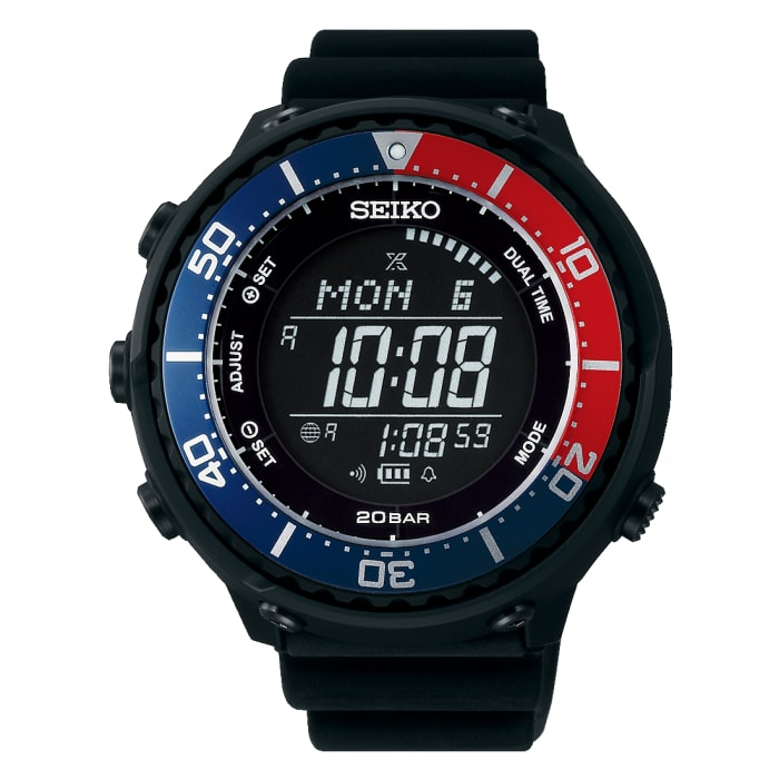 Seiko introduces a new digital model to its Prospex diving range