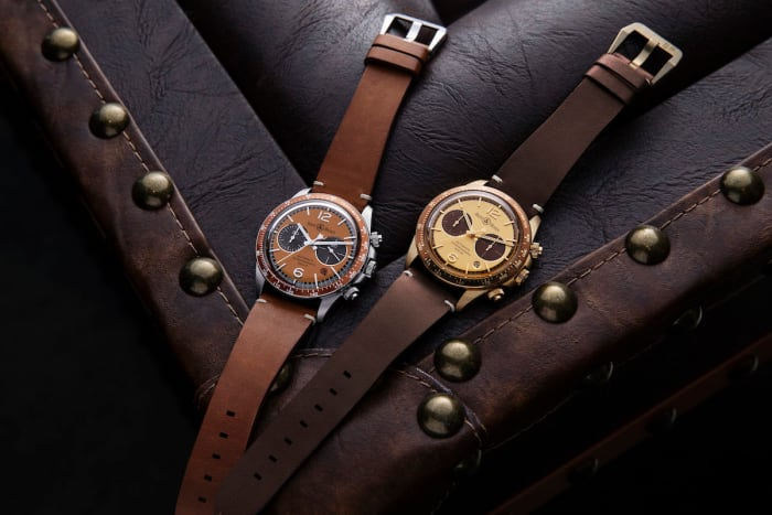 The Rake and Revolution preview their collaboration with Bell & Ross