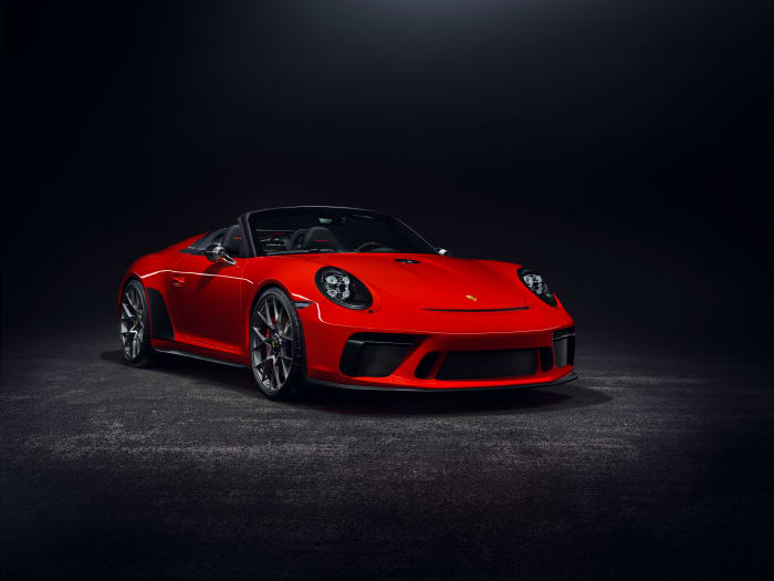Porsche announces the production of the 911 Speedster