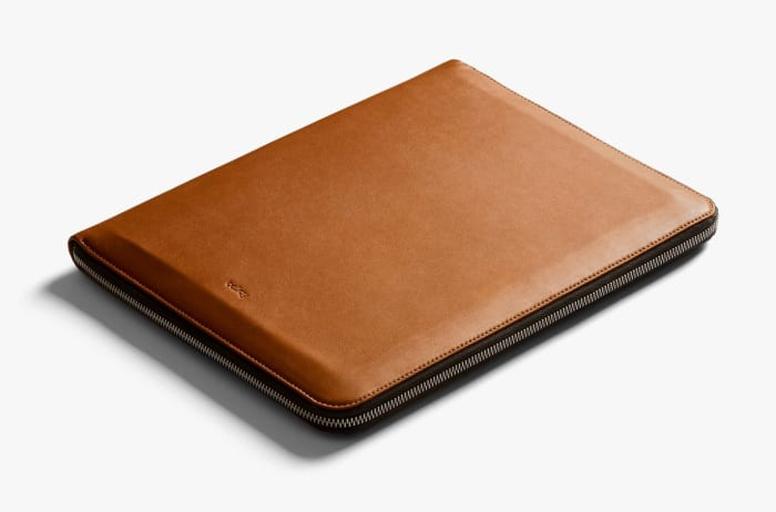 Bellroy's Work Folio swallows all your office essentials in a cleverly designed case