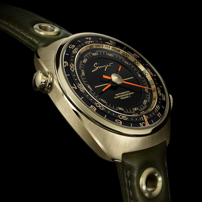 Singer introduces a 'Geneva Edition' of their Track 1 Chronograph