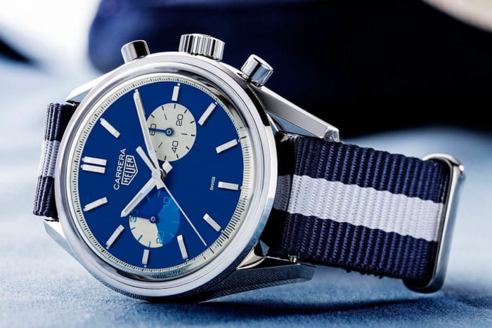 Tag Heuer and the Rake release their 'Blue Dreamer' Chronograph