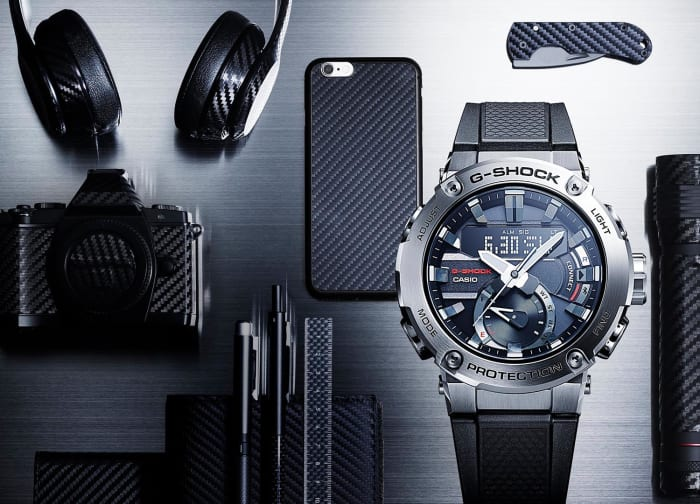 Casio adds thinner G-Steel cases to its G-Shock Carbon series
