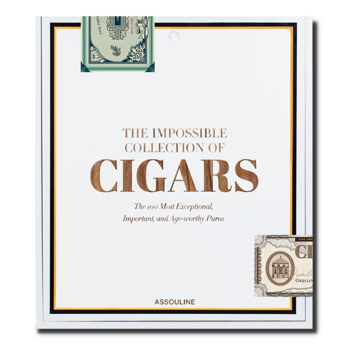 Assouline's The Impossible Collection takes a look at the world of cigars