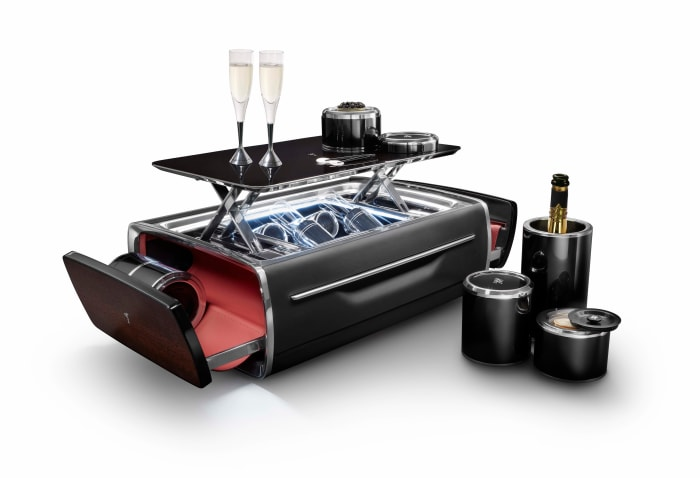 Rolls-Royce builds the Rolls Royce of champagne chests