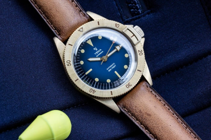 Yema reissues its Superman watch from 1970