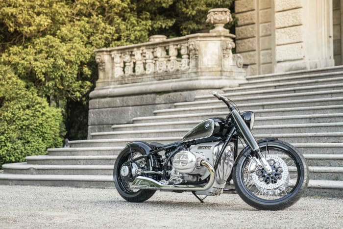 BMW Motorrad reveals their Concept R18 motorcycle