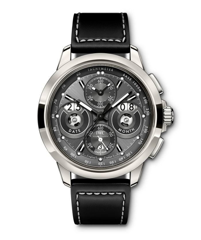 IWC releases the Ingenieur Perpetual Calendar Digital Date-Month in titanium
