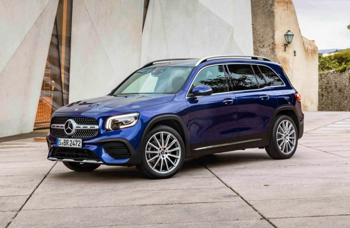 Mercedes reveals the newest addition to their SUV lineup, the GLB
