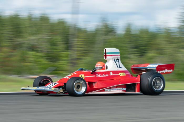 Niki Lauda's 1975 Ferrari 312T is hitting Gooding's Pebble Beach auction this August