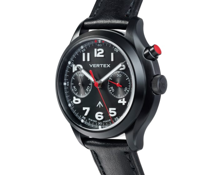 Vertex releases a DLC coated version of its MP45 timepiece