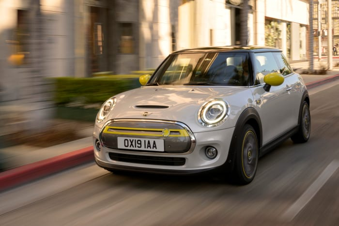 The Mini Cooper is going electric next year