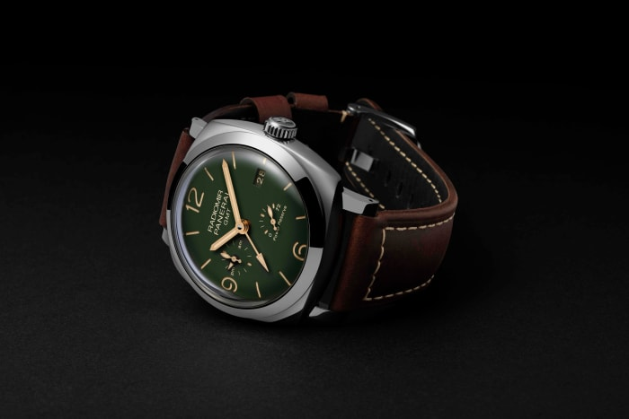 Panerai introduces its Military Green Radiomir Collection