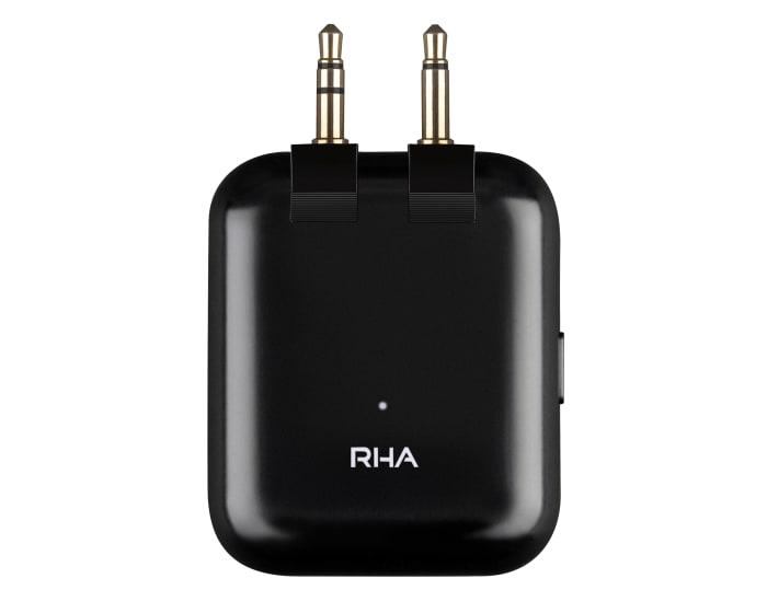 RHA's Flight Adapter adds wireless audio to any headphone jack