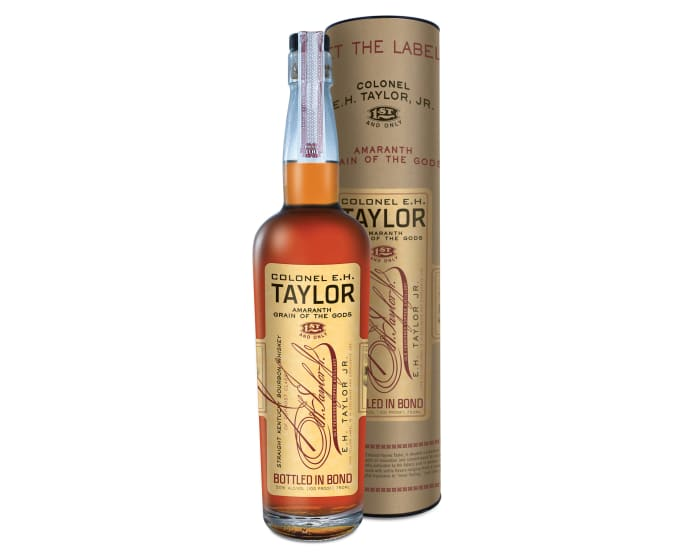 Buffalo Trace is using Amaranth grains in its latest bottle of Colonel E.H. Taylor, Jr.