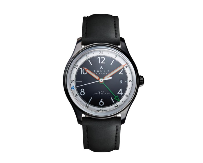 Farer introduces a black DLC version of its Oxley GMT
