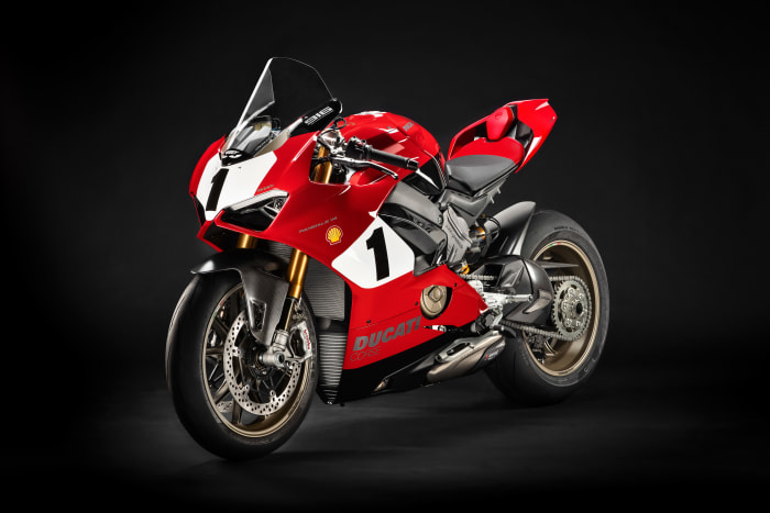 Ducati's new limited edition Panigale celebrates 25 years of the 916 superbike
